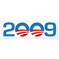 2009 Barack Obama Bumper Bumper Sticker