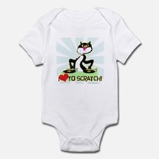 I love to scratch Infant Bodysuit