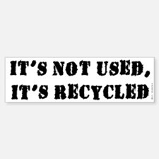 Recycle This Bumper Bumper Bumper Sticker