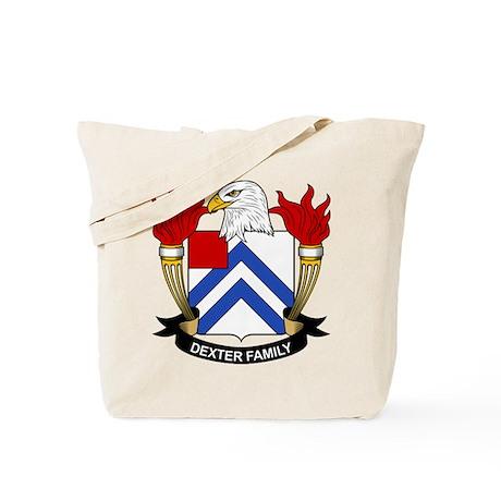 Dexter Family Crest Tote Bag