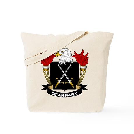 Degen Family Crest Tote Bag