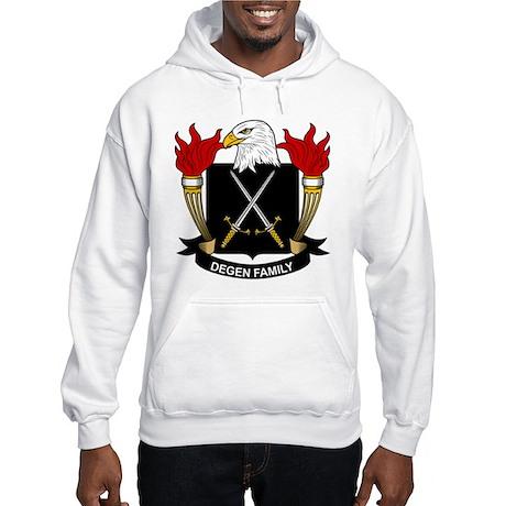 Degen Family Crest Hooded Sweatshirt