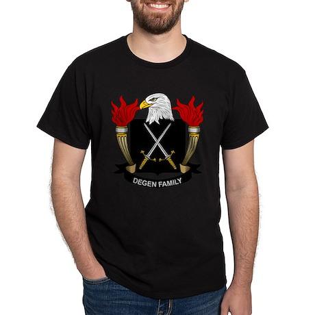 Degen Family Crest Dark T-Shirt