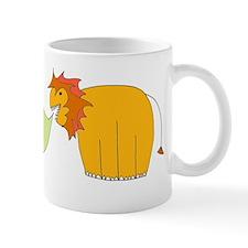 a lion roars PEACE! - Mug