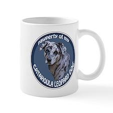catahoula pawperty Small Mug