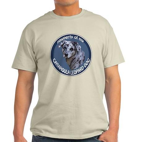 catahoula pawperty Light T-Shirt