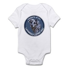 catahoula pawperty Infant Bodysuit