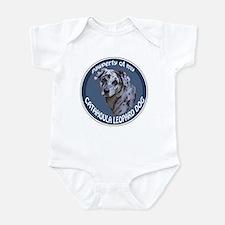 catahoula pawperty Infant Bodysuit