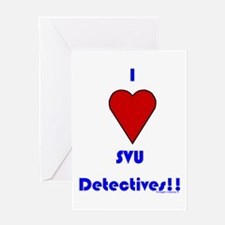 Heart SVU Detectives Greeting Card