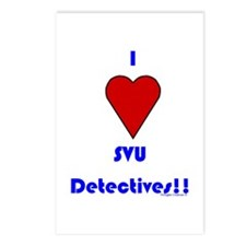 Heart SVU Detectives Postcards (Package of 8)
