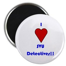 Heart SVU Detectives Magnet
