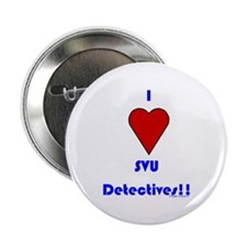 "Heart SVU Detectives 2.25"" Button"
