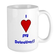 Heart SVU Detectives Mug