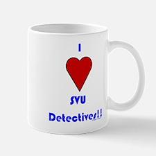 Heart SVU Detectives Mug
