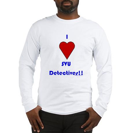 Heart SVU Detectives Long Sleeve T-Shirt