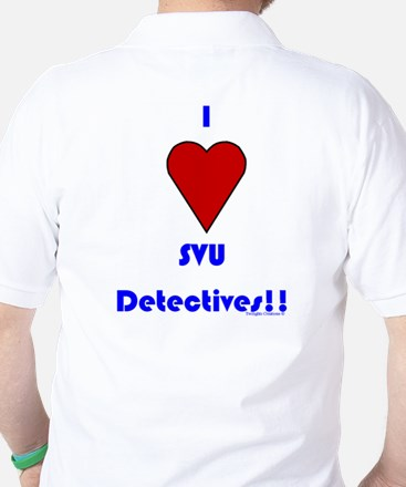 Heart SVU Detectives Golf Shirt