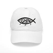 Fishing Jesus? Baseball Cap