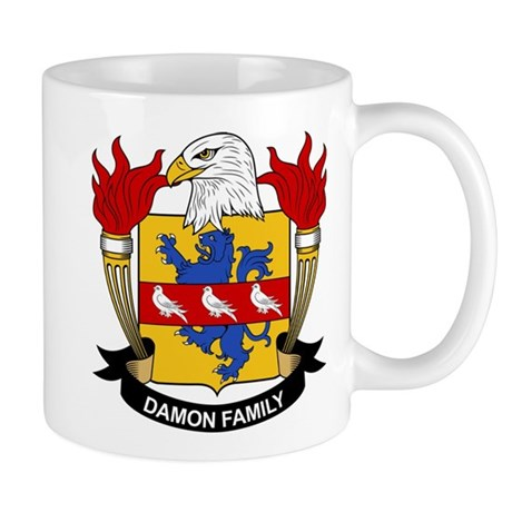 Damon Family Crest Mug