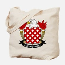 Cutting Family Crest Tote Bag
