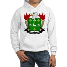 Curtin Family Crest Hoodie