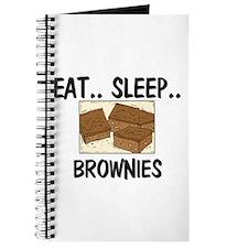 Eat ... Sleep ... BROWNIES Journal