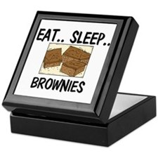 Eat ... Sleep ... BROWNIES Keepsake Box