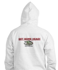 TROUT HEAD INC. Hoodie-GET SOME HEAD!