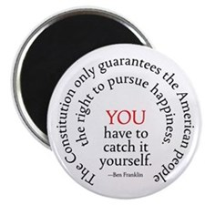 Pursuit of Happiness Magnet