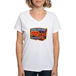 Cherokee County Anti-Drug Women's V-Neck T-Shirt