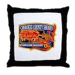 Cherokee County Anti-Drug Throw Pillow