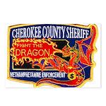 Cherokee County Anti-Drug Postcards (Package of 8)