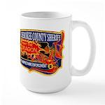 Cherokee County Anti-Drug Large Mug