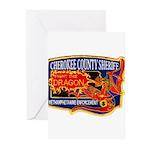 Cherokee County Anti-Drug Greeting Cards (Pk of 20