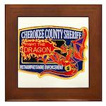 Cherokee County Anti-Drug Framed Tile