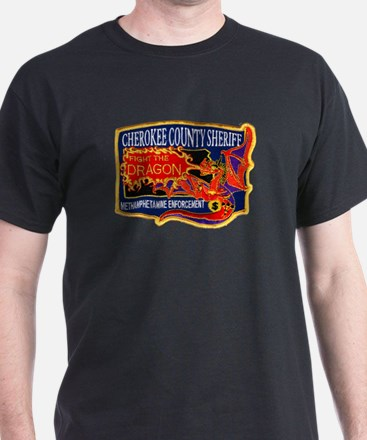 Cherokee County Anti-Drug T-Shirt