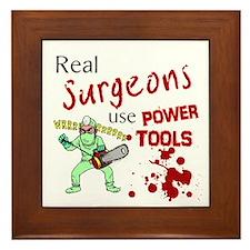 Surgeons Framed Tile