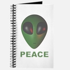 Green Alien -- Peace Journal