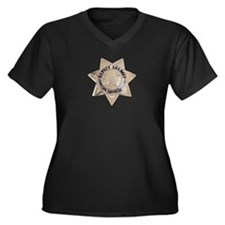 Contra Costa Sheriff Women's Plus Size V-Neck Dark