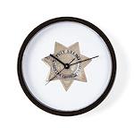 Contra Costa Sheriff Wall Clock