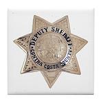Contra Costa Sheriff Tile Coaster