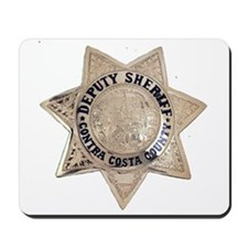 Contra Costa Sheriff Mousepad