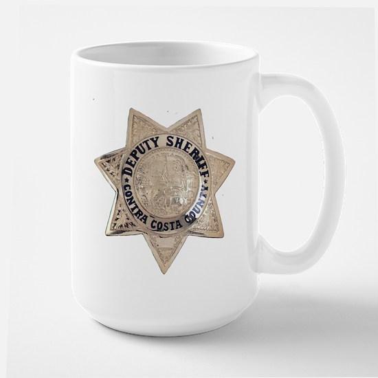 Contra Costa Sheriff Large Mug