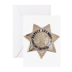 Contra Costa Sheriff Greeting Cards (Pk of 20)