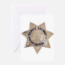 Contra Costa Sheriff Greeting Card