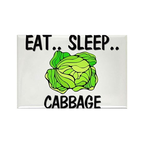 Eat ... Sleep ... CABBAGE Rectangle Magnet (10 pac