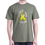 Testicular Cancer Survivor Dark T-Shirt