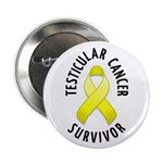 "Testicular Cancer Survivor 2.25"" Button (100 pack)"