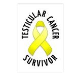 Testicular Cancer Survivor Postcards (Package of 8