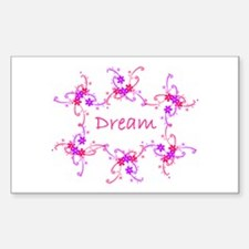 ~Dream 002~ Rectangle Decal