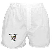 Eat ... Sleep ... CAKES Boxer Shorts